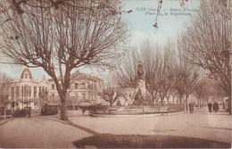 ALES. Statue Florian. Place De La République - Alès