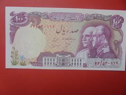 IRAN 100 RIALS 1976 PEU CIRCULER (B.11) - Iran