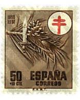 Ref. 258390 * MNH * - SPAIN. 1950. TUBERCULOSIS WELFARE . PRO TUBERCULOSOS - Medicine