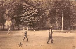 Spa - Le Tennis Du Parc (animée, Emile Dumont 1928, Peu Vue) - Spa