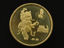 "China CHINESE 1 YUAN 2010 "" Year Of The Tiger "" Zodiac Commemorative COIN UNC - China"