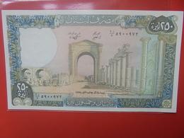 LIBAN 250 LIVRES PEU CIRCULER/NEUF (B.11) - Liban