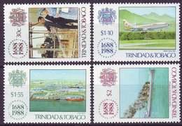 TRINIDAD & TOBAGO - SHIPS - LLOYD'S - FIRE - **MNH - 1988 - Barche