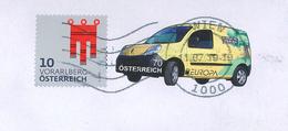 1000 Wien Vorarlberg Wappen Post-Zustell-Auto Es Steckt Viel Grün Im Geld - 2011-... Lettres