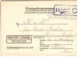 29340 A  - STALAG  VI J DORSTEN IN WESTFALEN - Poststempel (Briefe)