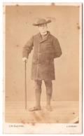 Livorno  C.1864 - Photo Cdv C N BETTINI Pretre Prete - Foto