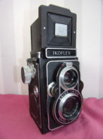 "Appareil Photo Ikoflex "" Zeiss Ikon "" Syncro & Compur + Sacoche. ( Rare ) - Appareils Photo"