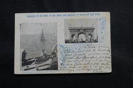 AUSTRALIE - Carte Postale De La Visite Du Duc Et De La Duchesse De Cornwall And York En 1905 Pour La France - L 55247 - Briefe U. Dokumente