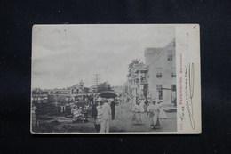 SURINAM - Carte Postale - Paramaribo - Waterkant, Voyagé En 1902 - L 55248 - Suriname