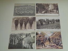 Lot De 20 Cartes Postales De REPRODUCTION  REPRO - Militaires Soldats Soldat  Soldaten Soldaat Oorlog Guerre 19 Scans - Cartes Postales