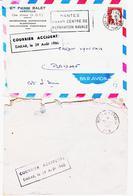 France, Accident Aerien Devant DAKAR En 1960, Lot De 3 Documents   TB - Luftpost