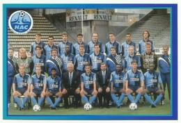 Le Havre HAC équipe De Football Team Saison 1995/96 Caveglia Revault - Football