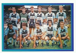 Le Havre HAC équipe De Football Team Saison 1985/86 - Football