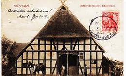 Allemagne, Ambulant  Wunstorf/ Uchte  En 1908 TB - Briefe U. Dokumente