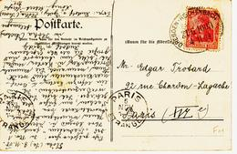 Allemagne, Ambulant  Dresde/ Reichenbach  En 1908 TB - Briefe U. Dokumente