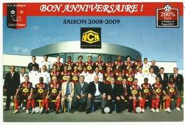 Boulogne Sur Mer 62 USBCO équipe De Football Team Saison 2008/2009 - Football