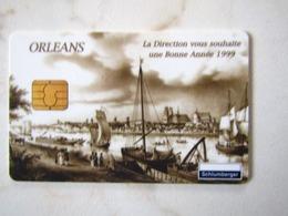 MAGNIFIQUE CARTE A PUCE DEMO SCLUMBERGER    ORLEANS   BONNE ANNEE 1999 - France