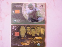 2 CARDS   CYPRUS MINT BLISTER - Chypre