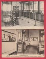 Frameries -Pensionnat Des Soeurs De La Providence - Salle De Musique Et Le Musée / 2 Cartes ( Voir Verso ) - Frameries