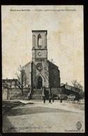 Ménil Sur Belvitte L'Eglise Après Le Passage Des Allemands Berger Lavrault Animée Attelage 1915 - Autres Communes