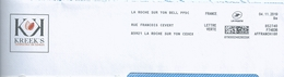 Ema Pitney Bowes Affranchigo - Service D'affranchissement De La Poste - La Roche Sur Yon PPDC - Enveloppe Entière - Marcophilie (Lettres)