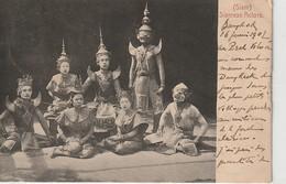Siam, Siamese Actors,, 2 Scans - Thaïlande