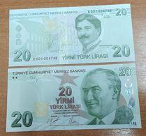 AC - TURKEY - 9th EMISSION 20 TL E 001 UNCIRCULATED - Turquia