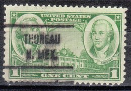 USA Precancel Vorausentwertung Preo, Locals New Mexico, Thoreau 721 - Estados Unidos