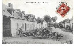 80 BOUGAINVILLE ( Somme)    Rue De La Scerie . - France