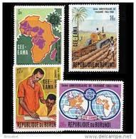 Burundi 0310/13**  Europafrique   MNH - Burundi