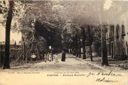 Virton - Avenue Bouvier - Cyclone Du 17 Juin 1904 - Virton