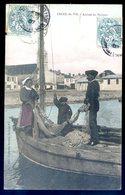 Cpa Du 85  Croix De Vie -- Arrivée Du Pêcheur   DEC19-40 - Saint Gilles Croix De Vie