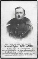 Roelants M.e.(gesneuveld Grimbergen 1912 -veldwezelt 1940) - Religion & Esotericism