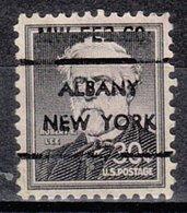 USA Precancel Vorausentwertung Preo, Locals New York, Albany L-7 E - Vereinigte Staaten