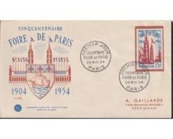 Ref. 438836 * MNH * - FRANCE. 1954. 50 YEARS OF PARIS EXHIBITION . 50 AÑOS DE LA FERIA DE PARIS - Storia Postale