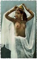 CPSM Algérie. Danseuse Au Voile. Scènes Et Types D'Afrique Du Nord, Dentelée - Vrouwen