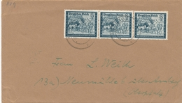 Timbre Michel N° 889 (postiers 1944) Sur Lettre - Storia Postale