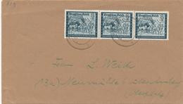 Timbre Michel N° 889 (postiers 1944) Sur Lettre - Deutschland