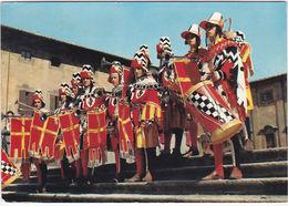 AREZZO - ARALDI E TAMBURINO GIOSTRA DEL SARACINO - VIAGG. 1970 -96966- - Arezzo