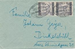 Timbres Sur Lettre Michel  N° 857 - Storia Postale
