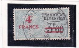 T.F.de Dimension  N°106 - Fiscale Zegels