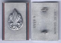 Insigne Du 2e Régiment Etranger D'Infanterie - Armée De Terre