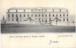Salzinnes NA5: Salzine. Hospice F. Kyelgan. Façade 1908 - Namur