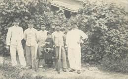 NOUMÉA - Carte Photo, Militaires En 1909. - Nouvelle-Calédonie