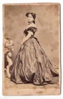 ROMA 1864 - Photo Cdv Jeune Fille Christina - Photographs