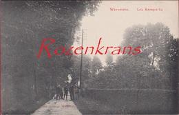 Waremme Borgworm Les Remparts 1908 CPA RARE Animee Edit. Jeanne Liege (En Très Bon état) (In Zeer Goede Staat) - Waremme