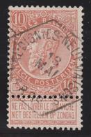 57 Vaudignies-Neufmaisons 1899 Chemin De Fer / Spoorweg Stempel. RR - 1893-1900 Thin Beard