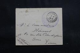 POLOGNE - Enveloppe En FM De Varsovie Pour La France En 1920 - L 55328 - Briefe U. Dokumente