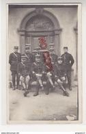 Au Plus Rapide Corse Carte Photo Gendarmerie De Porto Vecchio Gendarme Souvenir Du 23 Mars 1930 Très Bon état - Sonstige Gemeinden