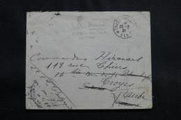 POLOGNE - Enveloppe En FM De Varsovie Pour La France En 1921 - L 55329 - Briefe U. Dokumente